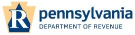 PA Department of Revenue